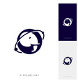 planet elephant logo design template vector image vector image
