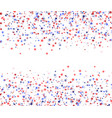 red blue and white stars with blank space in the vector image vector image