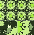 saint patricks day floral seamless pattern vector image vector image