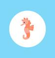 seahorse icon sign symbol vector image