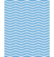 seamless blue wavy lines vector image vector image