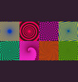 swirl spirals twisted delusion spiral elements vector image vector image