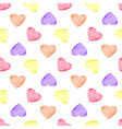 watercolor hearth pattern vector image
