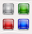 app buttons vector image