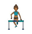 athlete sport avatar icon image vector image