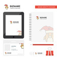 christmas penguin business logo tab app diary pvc vector image vector image