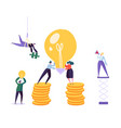 creative idea brainstorming concept business vector image vector image