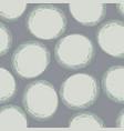 grey circles tone-on-tone seamless pattern vector image vector image