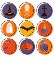 Halloween set2 vector image vector image