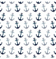 marine anchor cartoon vector image