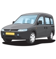Minivan vector image vector image