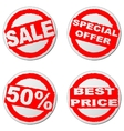 Sales sticker vector image vector image