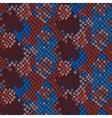 Snake skin artificial seamless texture vector image vector image