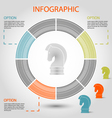 strategy pie chart vector image vector image