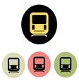 subway ikona1 vector image vector image