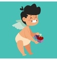 valentine day cupid angels cartoon style vector image vector image