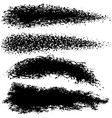brush paint stroke set for your business project vector image vector image