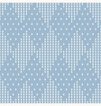 geometric checkered seamless pattern vector image vector image