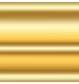 Gold texture horizontal 2a vector image vector image