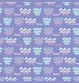 lilac purple ocean wave pattern line shapes vector image