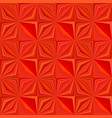 red geometrical striped shape tile mosaic pattern vector image vector image