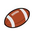 american football icon symbol vector image vector image