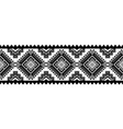 aztec style ornament vector image