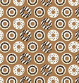 Chocolate Donut Background vector image vector image