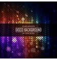 Colorful disco lighten background Magic effect vector image vector image