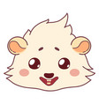 funny cavy smiling - emoticons icon smile smile vector image