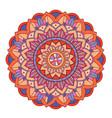 mandala patterns on isolated background vector image vector image