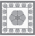 Roman classical architectural design element vector image
