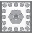 Roman classical architectural design element vector image