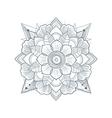 set ornament round mandalas vector image