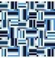 Techno blue stripes vector image vector image