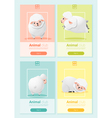 Animal banner with sheep for web design 2 vector image vector image