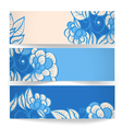 Banners vector image