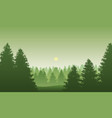 black forest in germany vector image