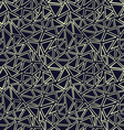 geometricpattern with light hand drawn triangles vector image vector image