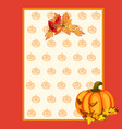 poster on theme of halloween holiday party or vector image vector image