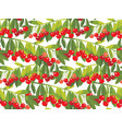 rape cherry fruit seamless pattern vector image vector image