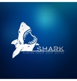 Shark concept vector image vector image