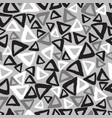 triangles drawn hand seamless pattern vector image