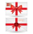 set of envelopes vector image