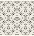 floral seamless wallpaper pattern vector image