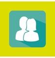 button mobile application design vector image vector image