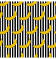 Colorful seamless pattern banana stripes vector image vector image