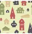 Different houses seamless vector | Price: 1 Credit (USD $1)