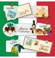 Italy Touristic Banners vector image vector image