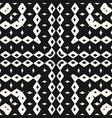 ornamental seamless pattern with geometric vector image vector image